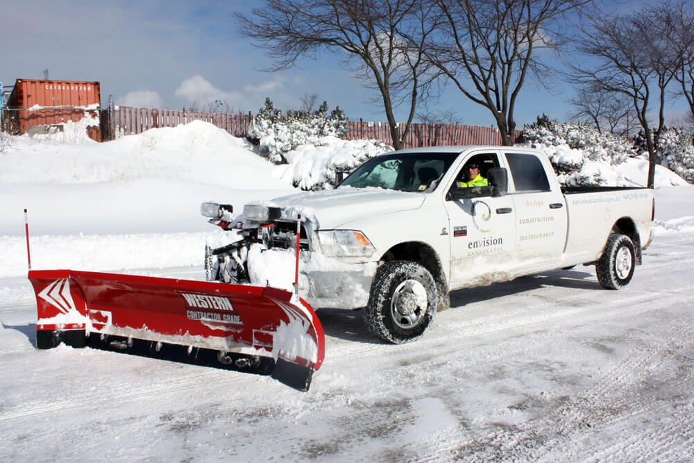 Snow Clearing - Envision Landscapes
