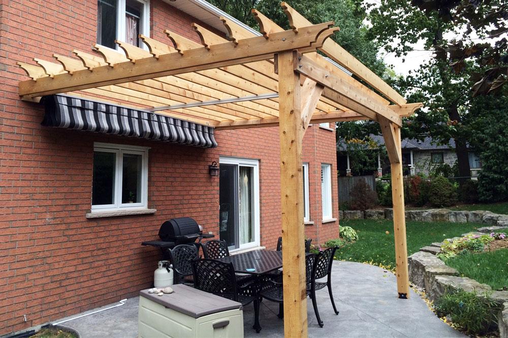 How To Build A Pergola Over A Raised Deck
